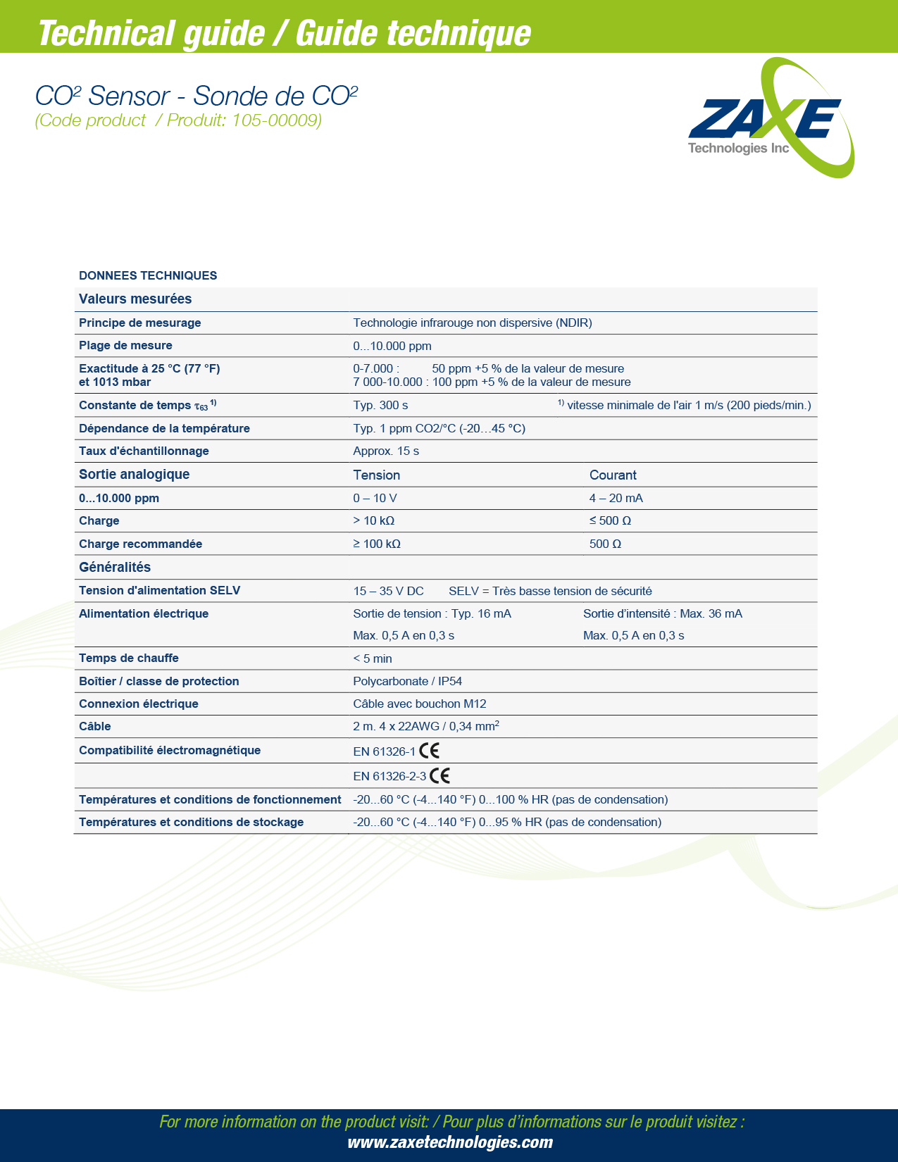 Sonde de CO2