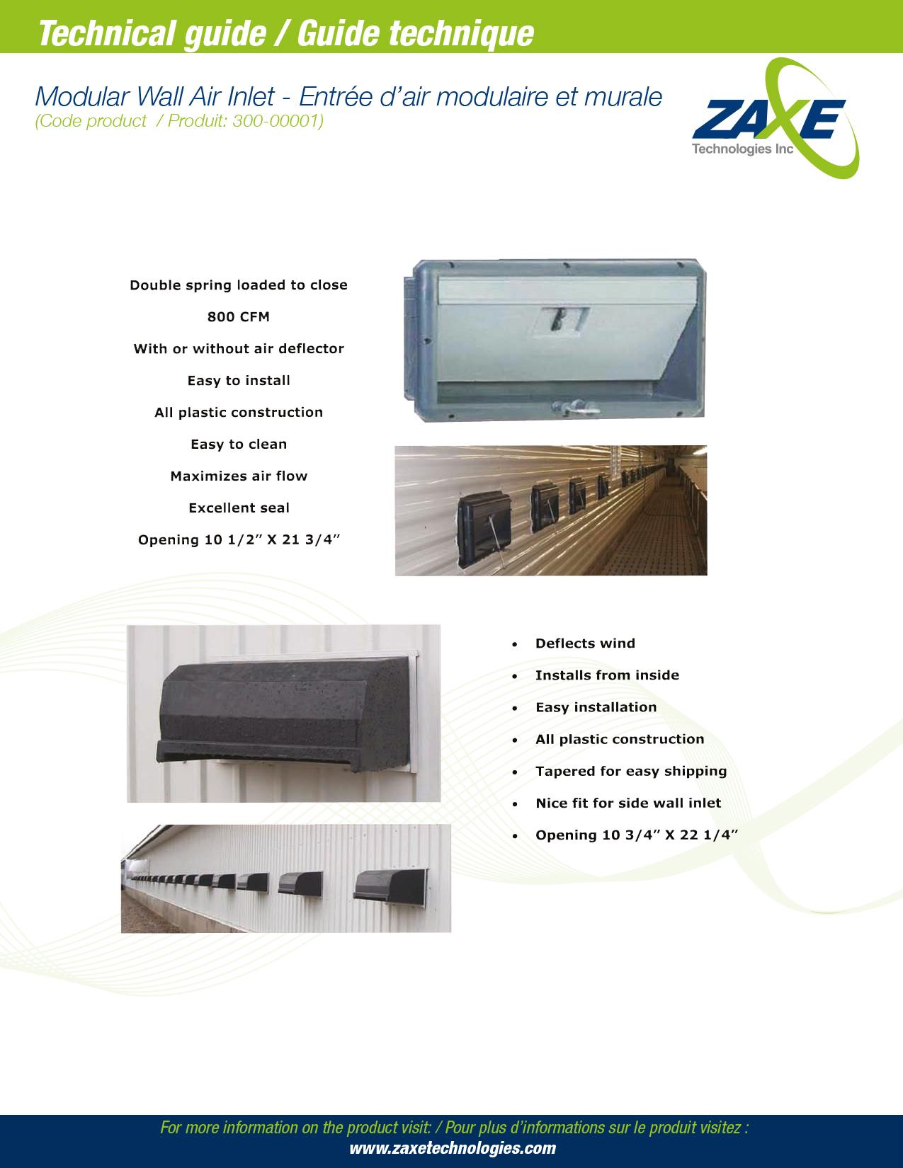Modular Air Inlet